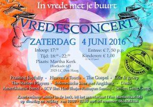 flyer vredes concert