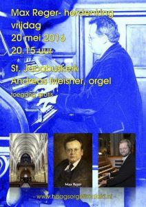 Orgelconcert MaxReger