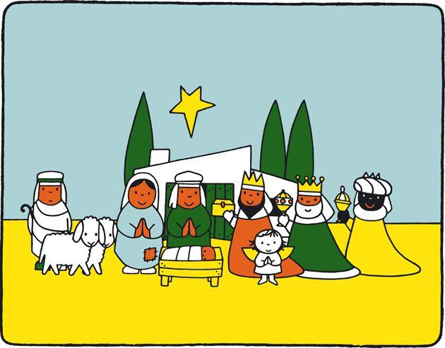 Afbeeldingsresultaat voor kerststal dick bruna